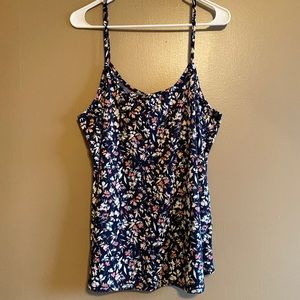 MAURICES Floral Swing Tank Size XL